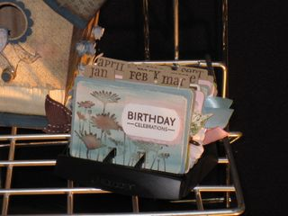 Birthday Calendar Rolodex