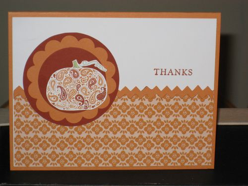 Paisley Prints- Pumpkin